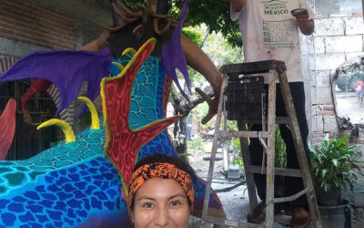 VIVA Guest Artist Gaby Marván shares her work and that of other Mexican artists through the Folk Art Collective