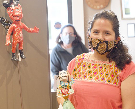 Local Mexican folk artist honors murdered or disappeared women