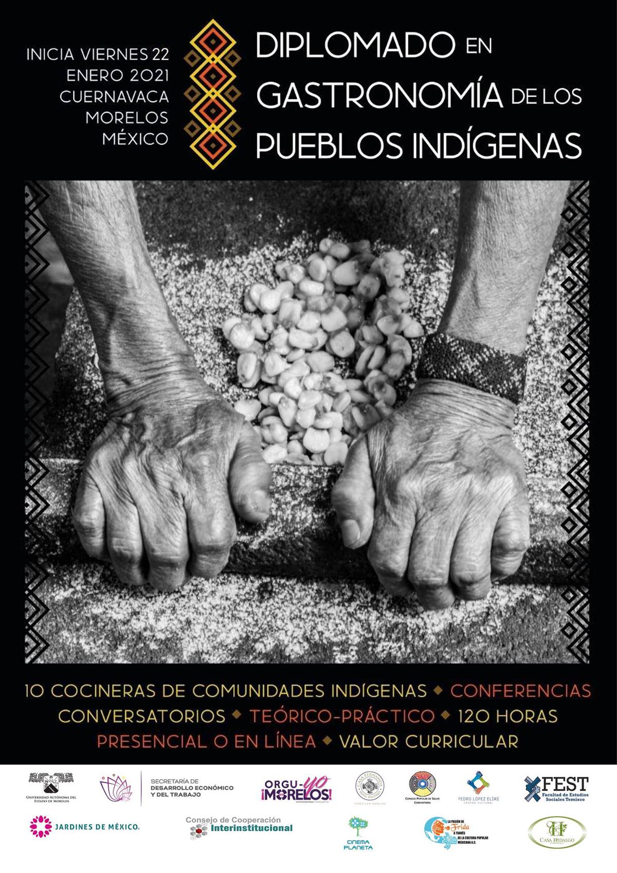 ON-LINE | Diplomado en Gastronomía los Pueblos Indígenas (Classes in Spanish)